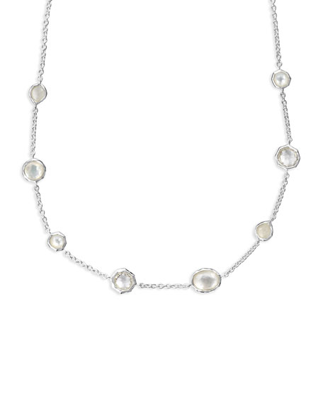 Image 2 of 2: Ippolita Wonderland Mini Gelato Short Station Necklace in Flirt