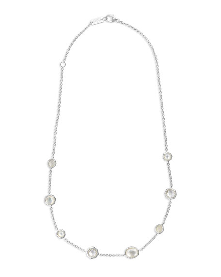 Image 1 of 2: Ippolita Wonderland Mini Gelato Short Station Necklace in Flirt