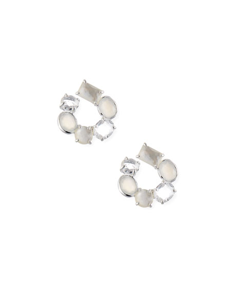Ippolita Rock Candy Two-Stone Earrings in Oyster