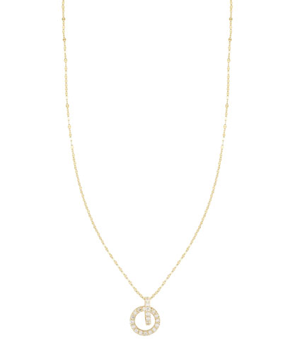 Diamond Lana Link Drop Necklace