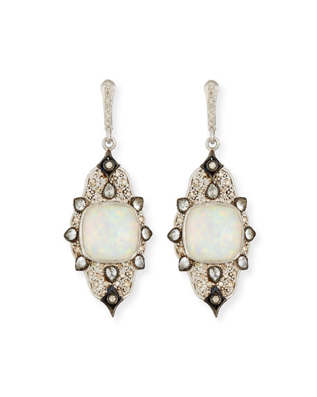 Armenta New World Midnight Triplet Drop Earrings with