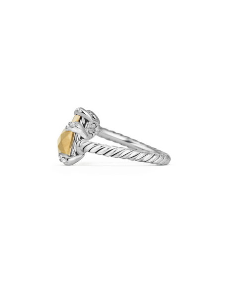 Favorite David Yurman Châtelaine 18K Gold & Sterling Silver Bypass Ring  RO55