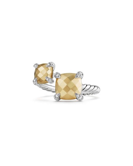 David Yurman Châtelaine 18K Gold & Sterling Silver