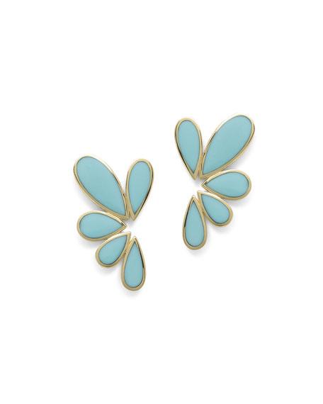 Ippolita 18K Polished Rock Candy Multi-Pear Earrings in