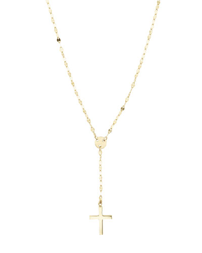 Girls' Mini Cross Pendant Necklace