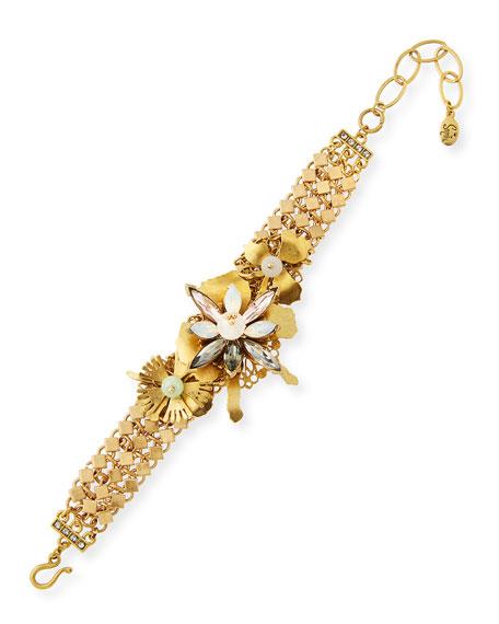 Floral Statement Bracelet