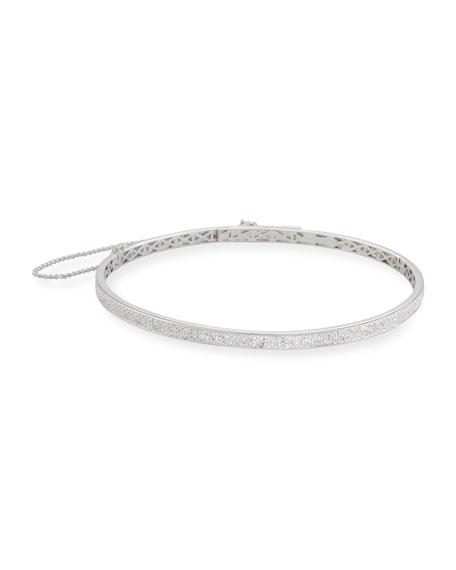 Eddie Borgo Pavé Crystal Extra-Thin Choker Necklace