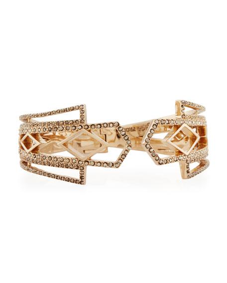 Lulu Frost Voyage Crystal Cuff Bracelet