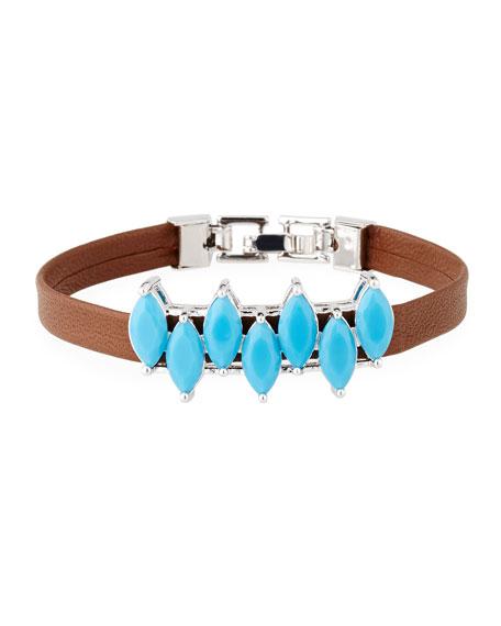 Fallon Monarch Mini Jagged Edge Cuff Bracelet