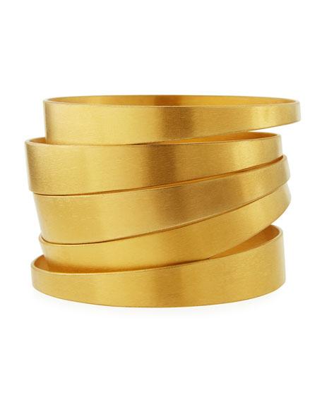 NEST Jewelry Satin-Finish Bangles, Set of 5