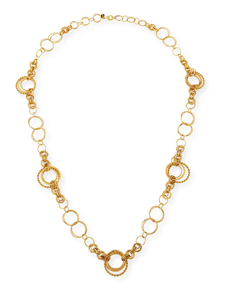 Image 1 of 3: Jose & Maria Barrera 24K Gold-Plated Chain Necklace