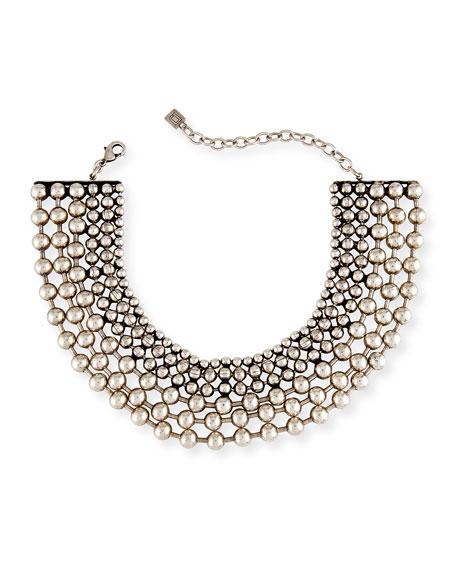 Vernon Multi-Row Choker Necklace