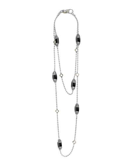 Caviar Color Station Necklace