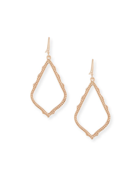Kendra Scott Sophia Statement Earrings in 14K Rose