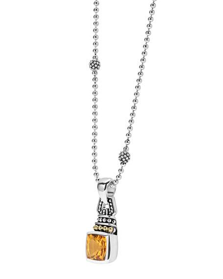 LAGOS Caviar Color 7mm Pendant Necklace