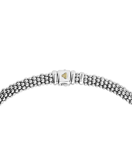 Caviar Lux Diamond Station Necklace