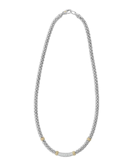 Caviar Diamond Lux 5mm Necklace, 18""