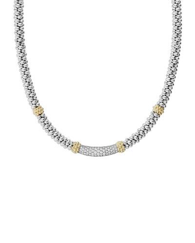Caviar Diamond Lux 5mm Necklace, 18
