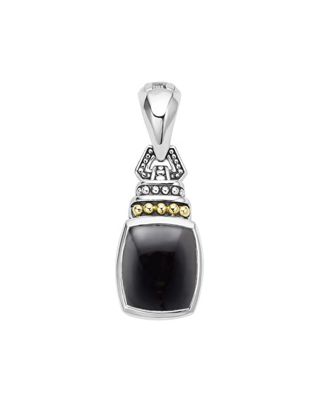 Image 1 of 2: Lagos Caviar Color Pendant with Onyx
