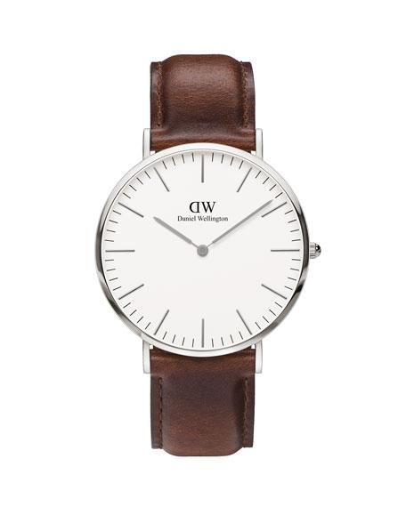 Daniel Wellington 40mm Classic St Mawes Watch