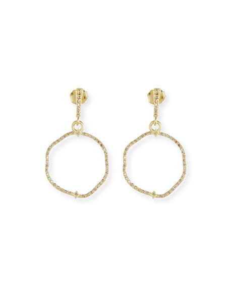 Armenta Old Word Sueno Wavy Circle Earrings with