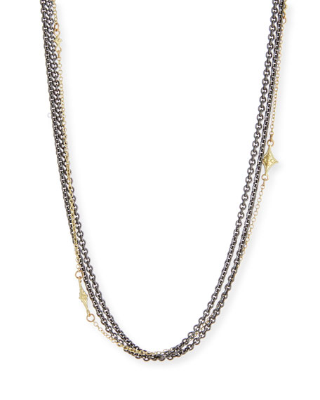 Armenta Old World Multi-Strand Chain Necklace