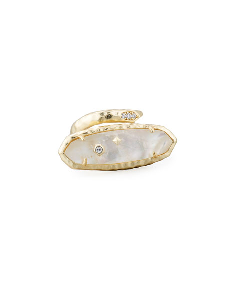 Blithe Open Wrap Ring