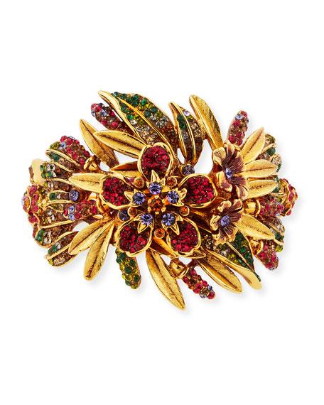 Jose & Maria Barrera Pavé Crystal Garland Bracelet