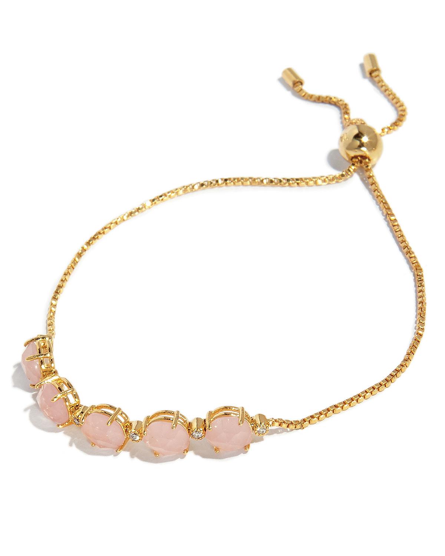 Rock Crystal Tennis Bracelet by Tai