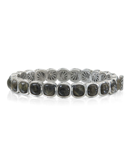 Stephen Dweck Rutilated Quartz Doublet Station Bracelet