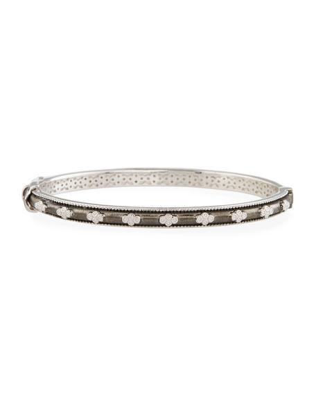 Jude Frances Encore Provence Bangle Bracelet with White Topaz