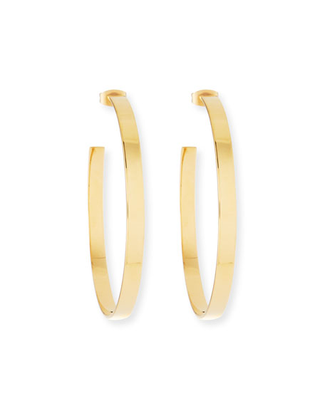 High Polish Hoop Earrings