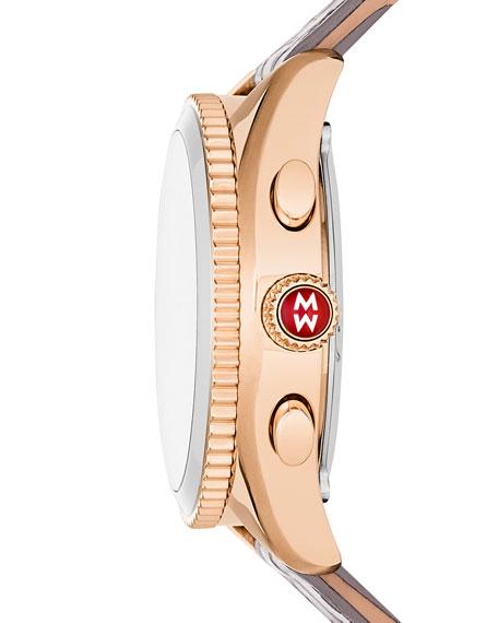 38mm Rose Golden Hybrid Smartwatch