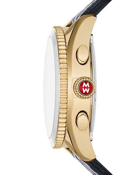 38mm Yellow Golden Hybrid Smartwatch