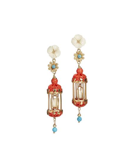 Of Rare Origin Aviary Classic Mini Drop Earrings,