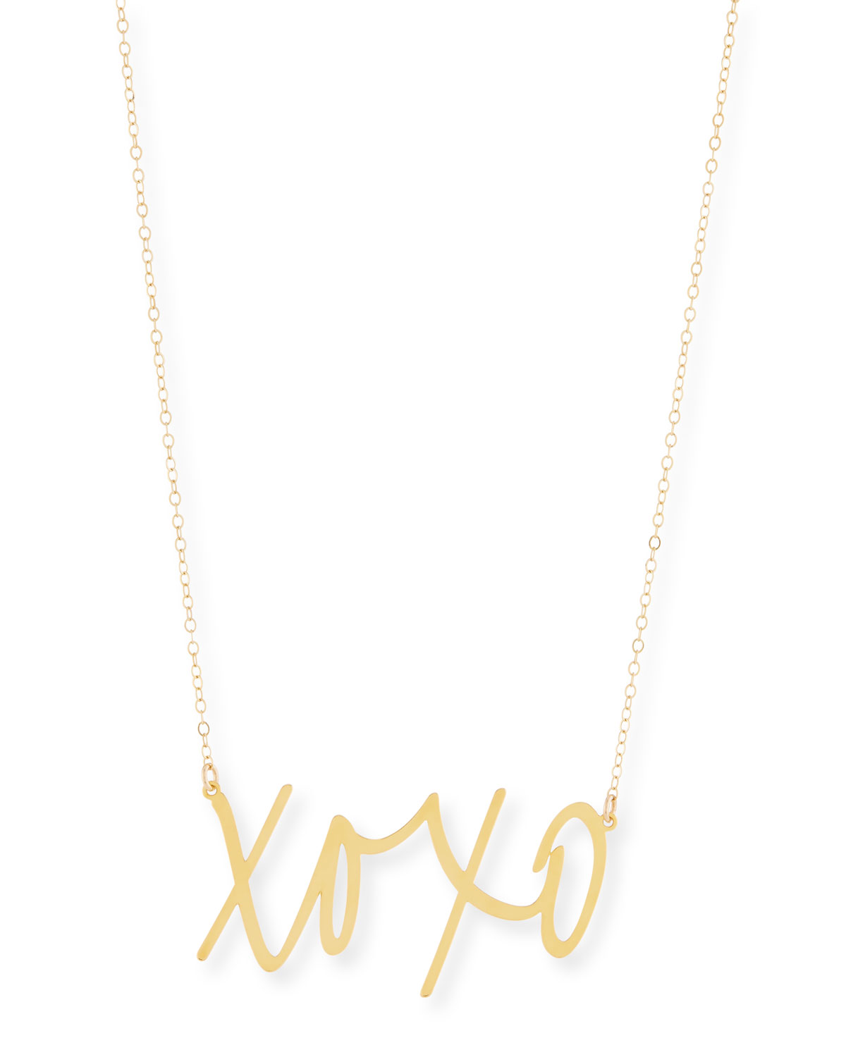 Brevity XOXO Large Pendant Necklace