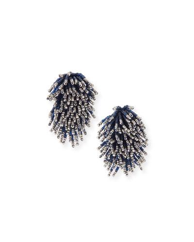 Liza Beaded Statement Earrings