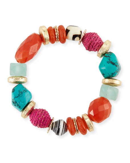 Akola Beaded Stretch Bracelet, 7.25