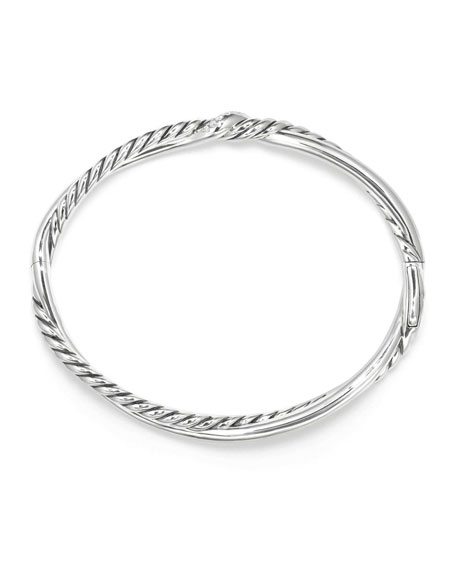 Continuance Diamond Twist Bracelet