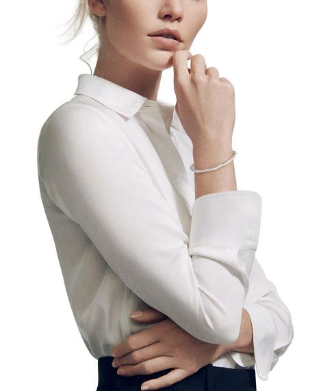 David Yurman Tides Triple Diamond & Cable Single-Row Bracelet