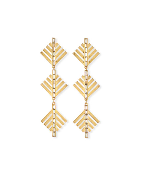 Lulu Frost Cascadia Pine Drop Earrings