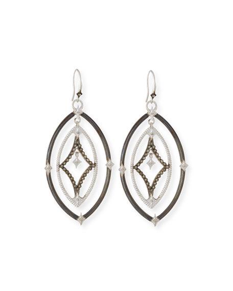 Armenta New World Crivelli Earrings w/ Diamonds