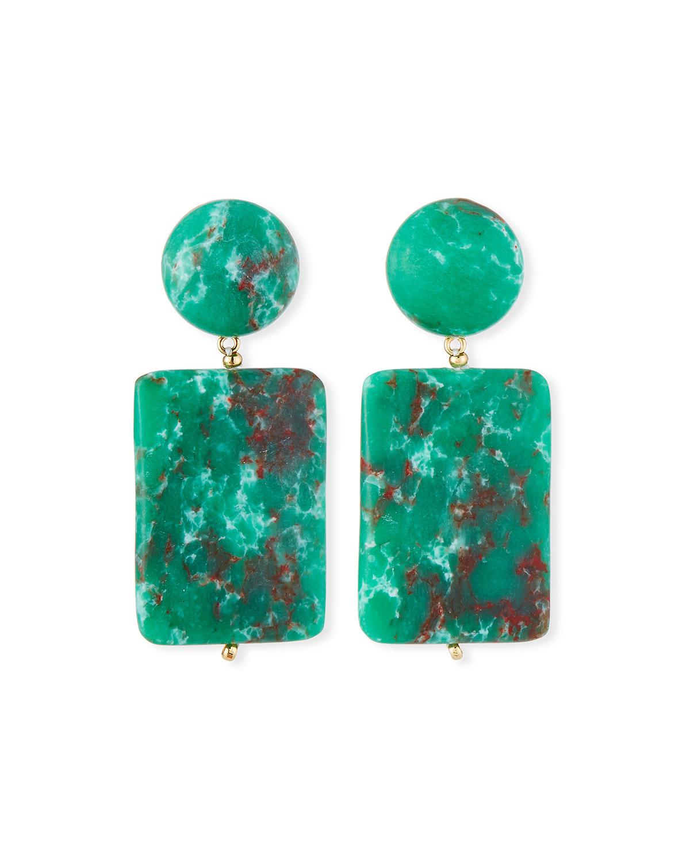 Lele Sadoughi Keepsake Stone Earrings X14TFU