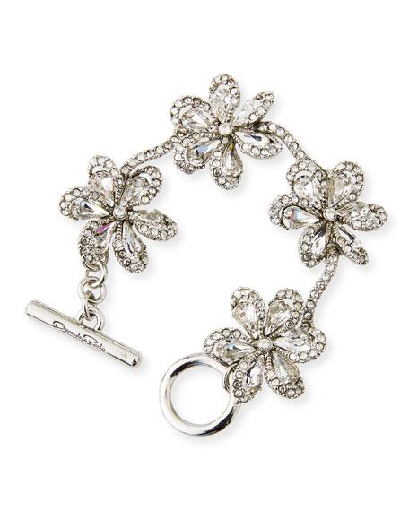 Crystal Delicate Flower Bracelet