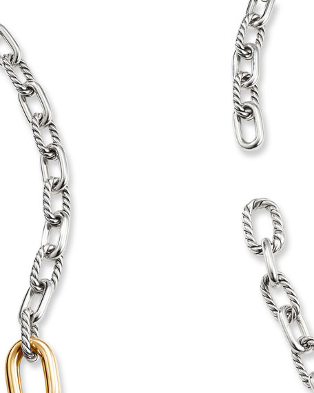 "David Yurman DY Madison Convertible Chain Link Necklace, 36"""