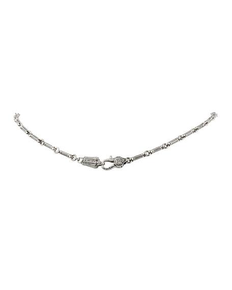 Konstantino Pythia Crystal & Corundum Tassel Necklace