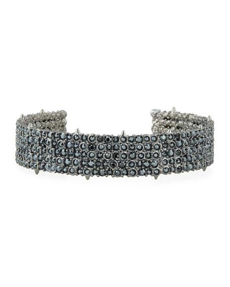 Alexis Bittar Crystal Pave Cuff Bracelet