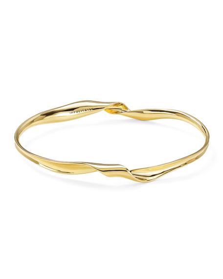 Ippolita 18k Gold Classico Twisted Ribbon Bracelet
