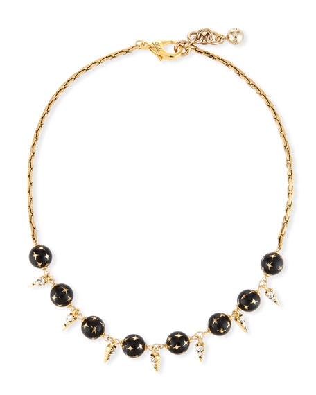 Lulu Frost Fidelity Midi Necklace with Crystals