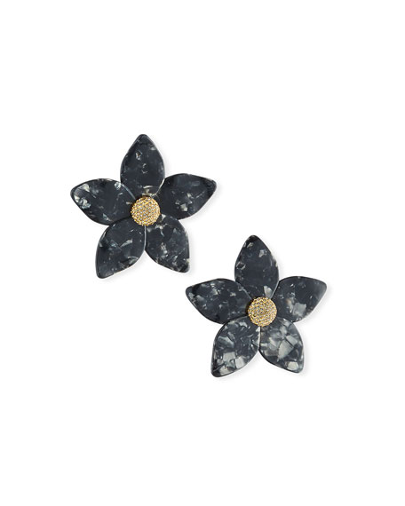 BaubleBar Adelissa Resin Flower Earrings